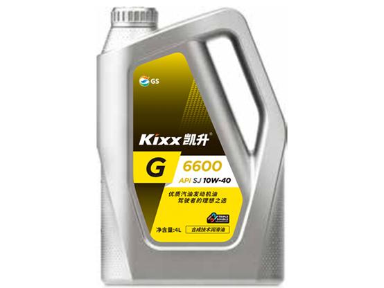 G6600 API SJ 10W-40