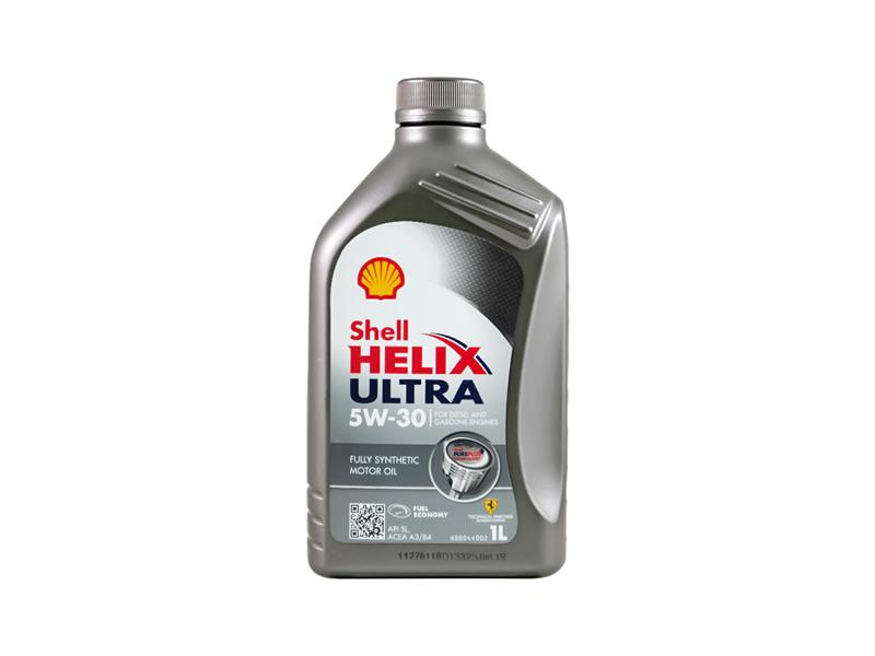 壳牌 全合成机油 超凡喜力Helix Ultra 5W-30 灰壳A3/B4 SL 1L装