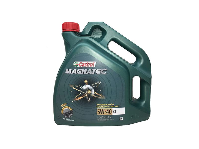 嘉实多 全合成机油 磁护Magnatec 5W-40 C3 SN 4L装